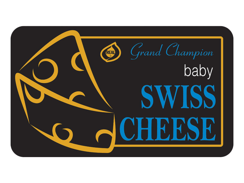 Grand Champion baby Swiss Cheese