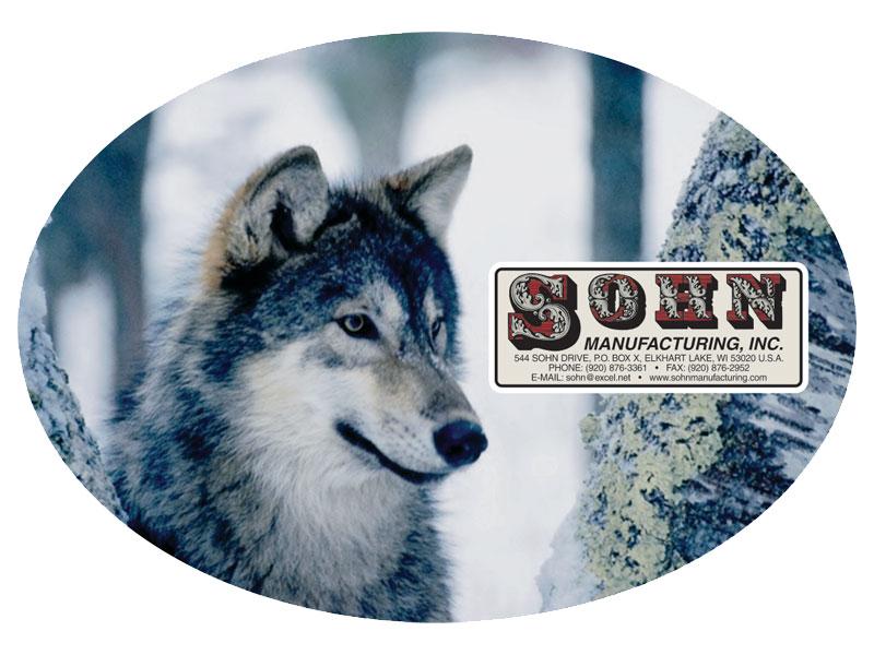 Sohn Manufacturing Wolf Logo