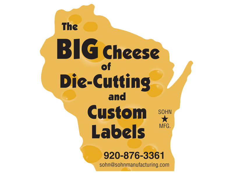 Big Cheese of Die-Cutting and Custom Labels